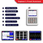 2031H 2.4-inch Screen Digital Oscilloscope 200MS/s Sampling Rate 30MHz Analog Bandwidth Support Waveform Storage white
