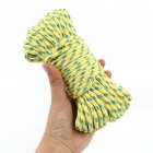 20M 50M Outdoor Reflective Cord Tent Line Rope for Camping Tent Nail Rope 50m 5mm Yellow