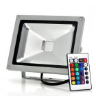 20W Waterproof Outdoor Secruity LED Flood Light  outdoor friendly  waterproof  16 Colors  Remote Control  AC90 240V