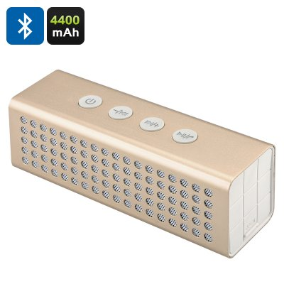 20W Bluetooth Speaker + Power Bank (Golden)