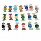 20pcs Murano Glass Candy Decoration