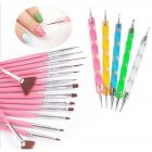 20pcs/set Nail Art Set Dotting Pen Painting Drawing Polish Brush Nail Art Decoration Tools