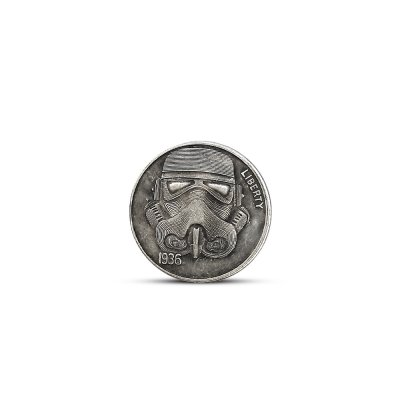 21 mm 5 Cents Dollar Commemorative Coin for Decoration Collecting Mask