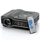 2100 Lumens DVD Projector with DVD Player Video Game Projector Beamer 400 1 Contrast