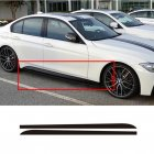 215cm Carbon Fiber Sticker Side Skirt Car Decal for BMW E90 E92 E39 F10 F30 F31