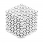 216Pcs 5mm DIY Magic Magnet Magnetic Blocks Balls Sphere Cube Beads Puzzle Building Toys Stress Reliever white