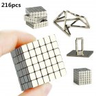 216pcs Square Puzzle Silver Square Magic Cube 5mm Educational Toy Silver