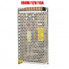 220V to 12V DC 15A 180W Universal Regulated Switching Power Supply for LED Lighting Strip  As shown_180 watts 12 volts
