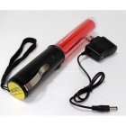 26cm Rechargeable Lighting Traffic Baton with Magnet Hanging Rope 100 240V China flat plug