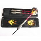 26g 3pcs Copper Safe Dart with Soft Tip Indoor Sport Darts With Colorful Flight for Games  With red rod + L4
