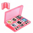 28-in-1 Game Card Case Holder for Nintend 3DS XL / 3DS / DS Lite Cartridge Box  red