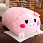 28CM Soft Cute Cotton Pillow Plush Toy Doll Cushion for Valentine's Day and Birthday  Pink pig