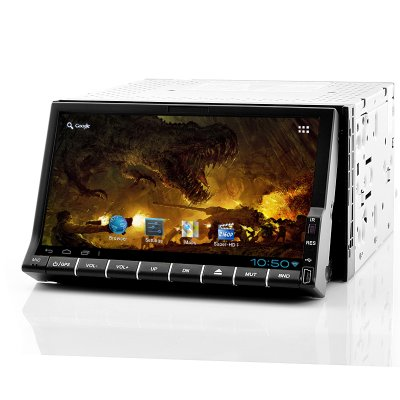 2 DIN WiFi Android Car DVD Player - RoadStar