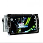 2DIN Android Car DVD for Volkswagen with 8 inch screen  DVB T 3G  WiFi  GPS  and more
