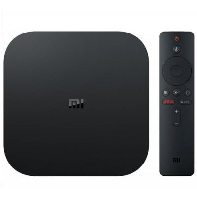 Xiaomi Global Version Mi Box S -black EU Plug