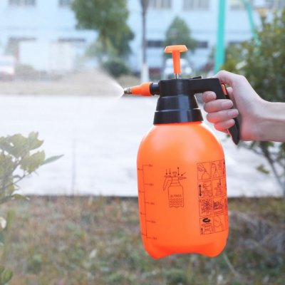 2L Air Pressure Adjustable Garden Spray Bottle Kettle Sprayer for Plant Flowers Watering 2L thickening