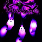 2M 20LEDs Battery Powered String Light Fairy Light for Outdoor Garden Halloween Decor  purple