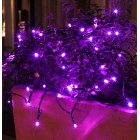 2M 20LEDs String Light Purple Lamp for Outdoor Garden Decor Battery Powered Purple light_2m 20LED
