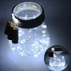 2M 20LEDs Waterproof Bottle Stopper String Light Silver Wire Not Including Battery White light