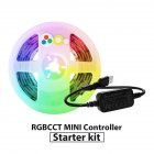 2M Intelligent LED5V ZigBee MINI RGBCCT LED Stripe Light Controller Set USB Interface waterproof