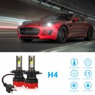 2PCS 120W 12000LM Mini Assembly H1 H7 H4 H8/H9/H11 9005 9006 LED Car HeadLight Fog light H4
