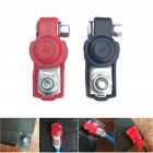 2PCS Battery Terminal Heavy Duty Car Vehicle Quick Connector Cable Clamp Clip Red black