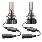 2PCS Mini Car LED Headlight Bulb H1 H7 H8/H9/H11 9005/HB3 9006/HB4 H4/HB2/9003 Hi/Lo 72W 10000LM 6000K Car Headlamp 9005/HB3