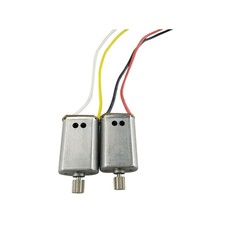 2PCS Motor for SYMA X8SW X8SC X8 PRO X8SG Remote Helicopter Aircraft Motor Spare Parts as shown