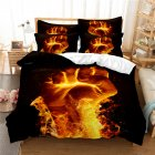 2Pcs/3Pcs Quilt Cover +Pillowcase 3D Digital Printing Dream Series Bedding Set Queen