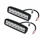 2Pcs/Lot 18W LED Work SUV Running Lights