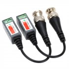 2X Coax CAT5 Camera CCTV Passive BNC Video Balun to UTP Transceivers 2pcs