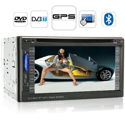 6.2 Inch Car DVD Player + DVB-T - Road King