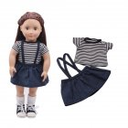 2pcs Doll Clothing Suit for 18 Inch doll Gift