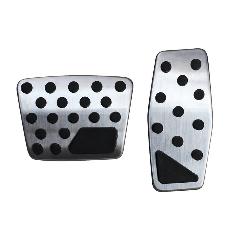 2pcs Gas Brake Pedal Cover Accessories for Jeep Renegade Compass