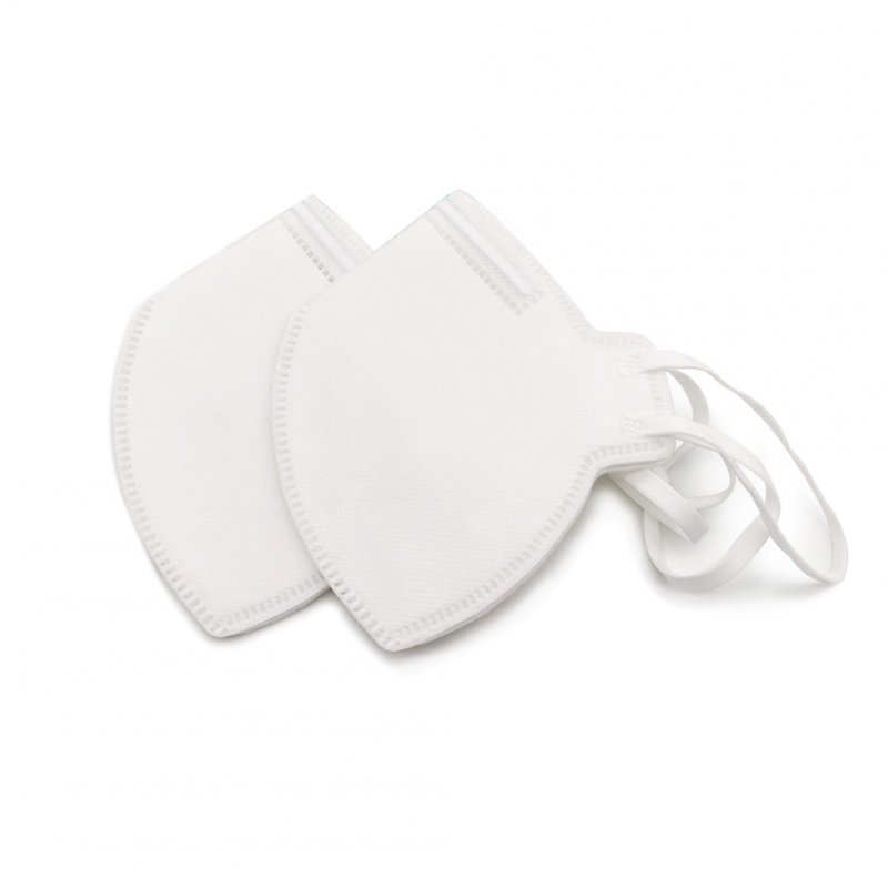 2pcs/bag Smog-filter Masks N95 White