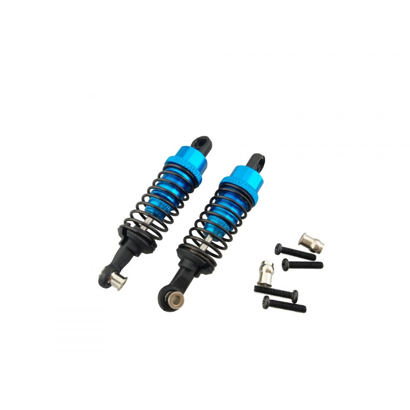 2pcs for 1/18 WLtoys A959-B Upgrade Parts Aluminum Shock Absorber Front & Rear RC Parts as shown