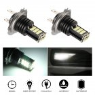 2pcs set H7 8 Rows 24SMD 6000K High Brightness LED Anti fog Lights Bulb