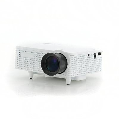60 Lumens Mini Projector (White)