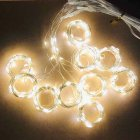 3*2 Meters Curtain Lights 8 mode USB Remote Control Copper Wire Decorative Curtain Lights Fairy Lights LED Lights String Warm White
