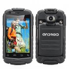 3 5 Inch dual core rugged Android phone with dual 3G SIM support  Dual Core CPU  32GB SD card Slot  shockproof