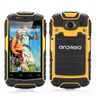 3 5 Inch dual core rugged Android phone with dual 3G SIM support  32GB SD card Slot   Dual Core CPU  shockproof