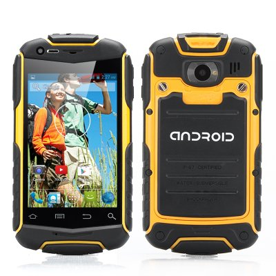 3.5 Inch Shockproof Phone (Yellow)