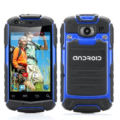 3.5 Inch Shockproof Phone (Blue)