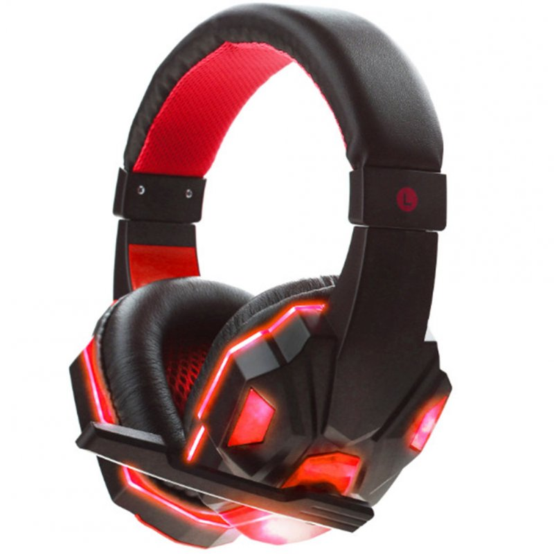 Stereo Game Headphone with Micro LED
