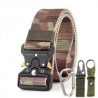 3 8cm Men Tactical Belt Army Fans Outdoor Training Belt   Jungle camouflage