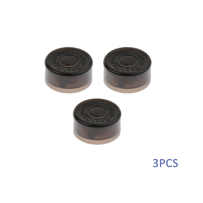 3 Pcs Guitar Effect Foot Nail Cap Protection Cap for Guitar Effects Pedal 3 pcs/set