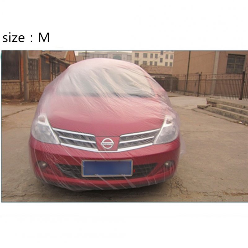 Disposable Car Cover Rain/Dust Resistant