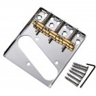 3 TL Saddle Ashtray Saddle Bridge with Screws for Telecaster TELE Electric Guitar copper