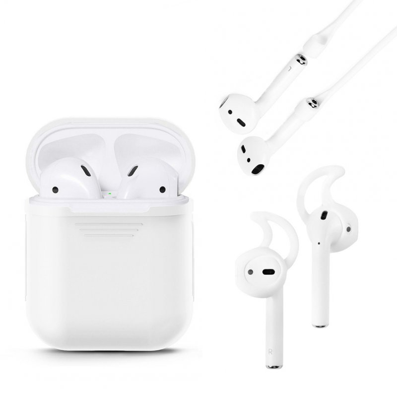 3 in 1 AirPods Silicone Case Set