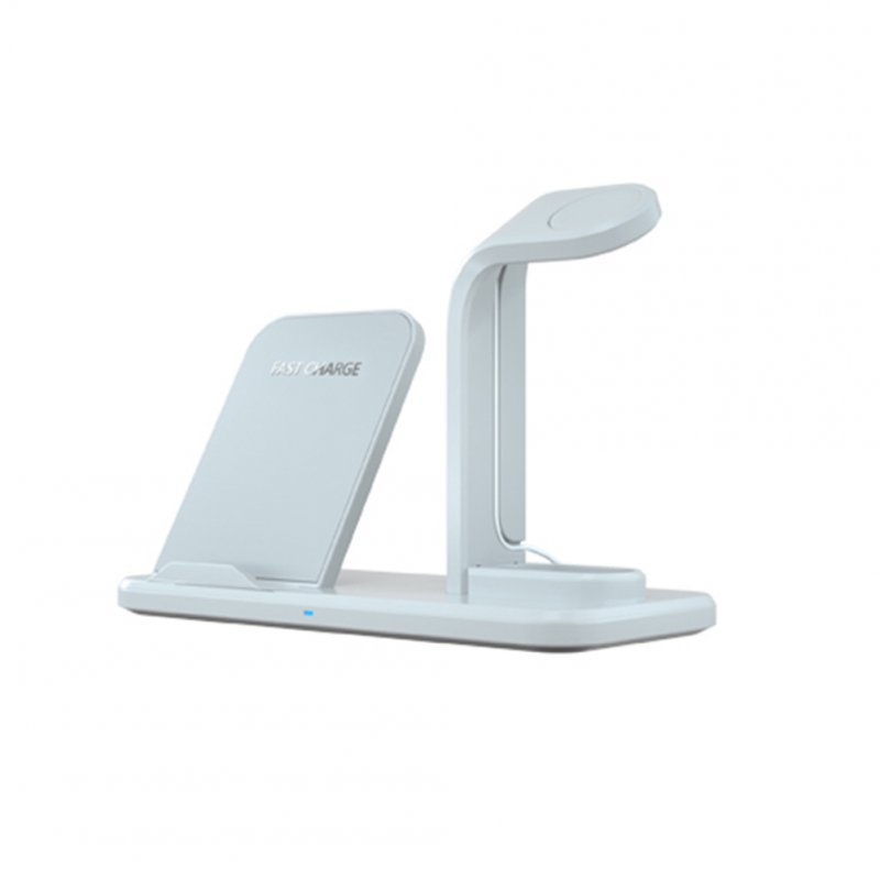 3 in 1 Charging Stand White